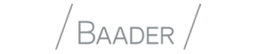 Logo of the valantic Financial Services Automation client Baader