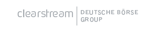 Logo of the valantic Financial Services Automation client Clearstream Deutsche Börse Group