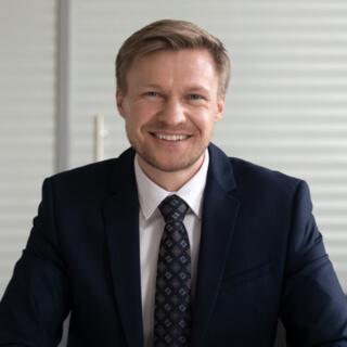Bild von einem Mann der lacht, valantic Customer Focus Day SAP