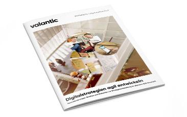 """Bild des Whitepapers """"Digitalstrategien agil entwickeln"""" von valantic"""