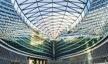 Bild von einem Glasdach, valantic Case Study Mesago