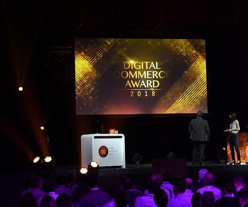 Picture of the Digital Commerce Award 2018