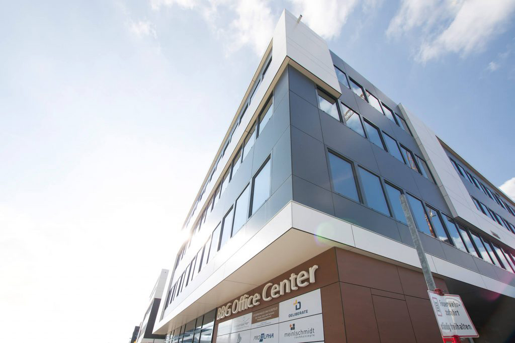 valantic Supply Chain Excellence office in Böblingen, image of the office building