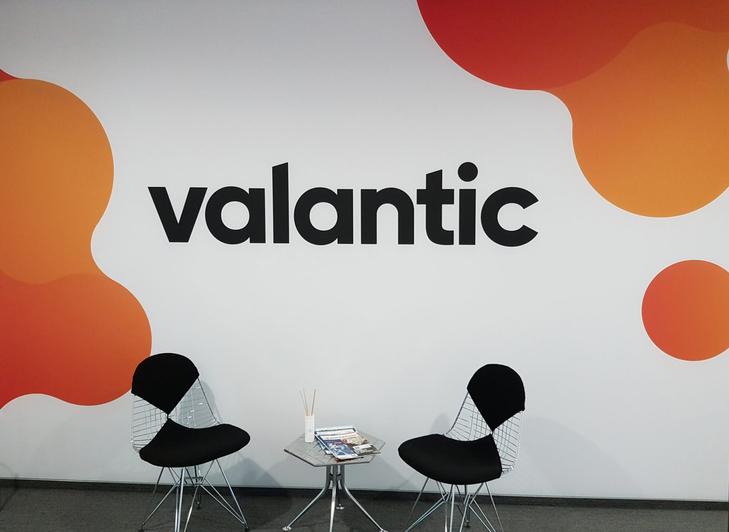 valantic Supply Chain Excellence office in Böblingen, image of the entrance area