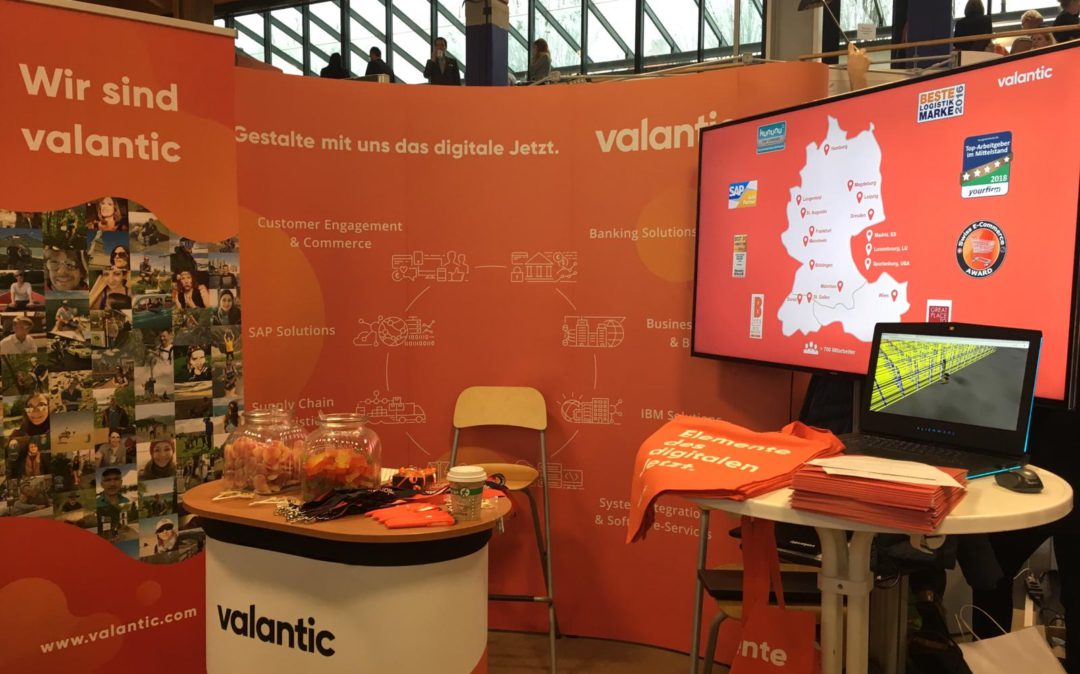Messestand valantic Karriere Events