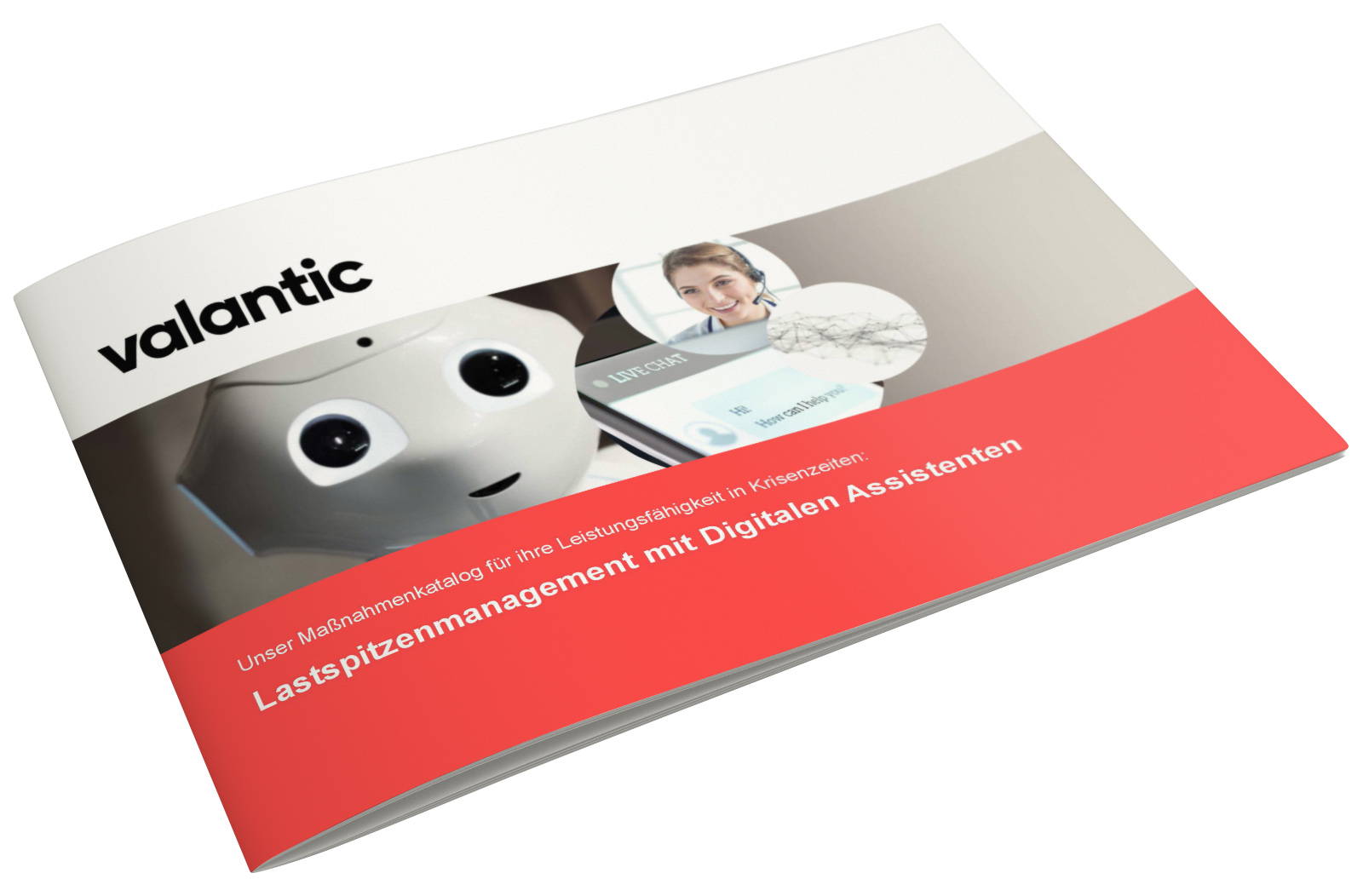 Bild einer Zeitschrift, valantic Maßnahmenpaket Digitaler Assistent und Chatbot Entwicklung