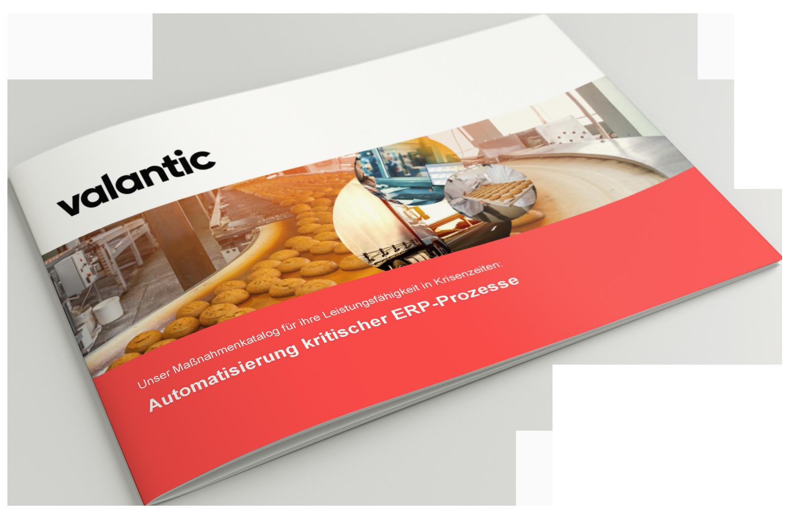 Bild einer Zeitschrift, valantic Maßnahmenpaket zur Entwicklung von Robotic Process Automation Prozessen in SAP ERP-Systemen
