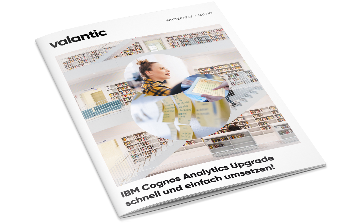 IBM Cognos Analytics Upgrade mit Motio