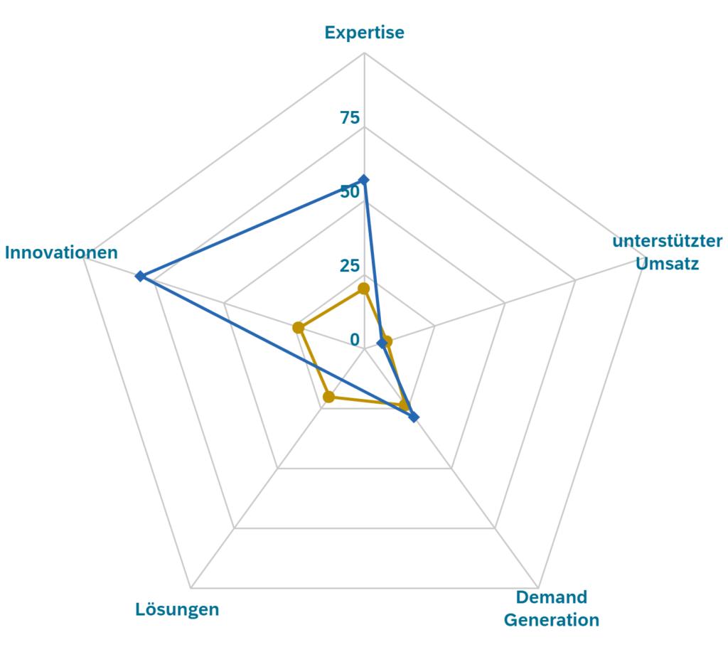 Infografik: SAP Diamant Initiative fünf Dimensionen