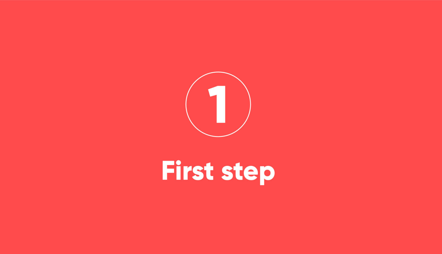 Step-1 Process steps of a migration project with Motio solutions