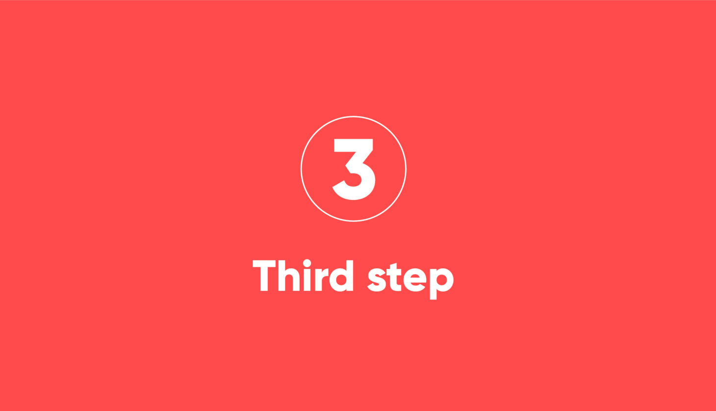 Step-3 Process steps of a migration project with Motio solutions