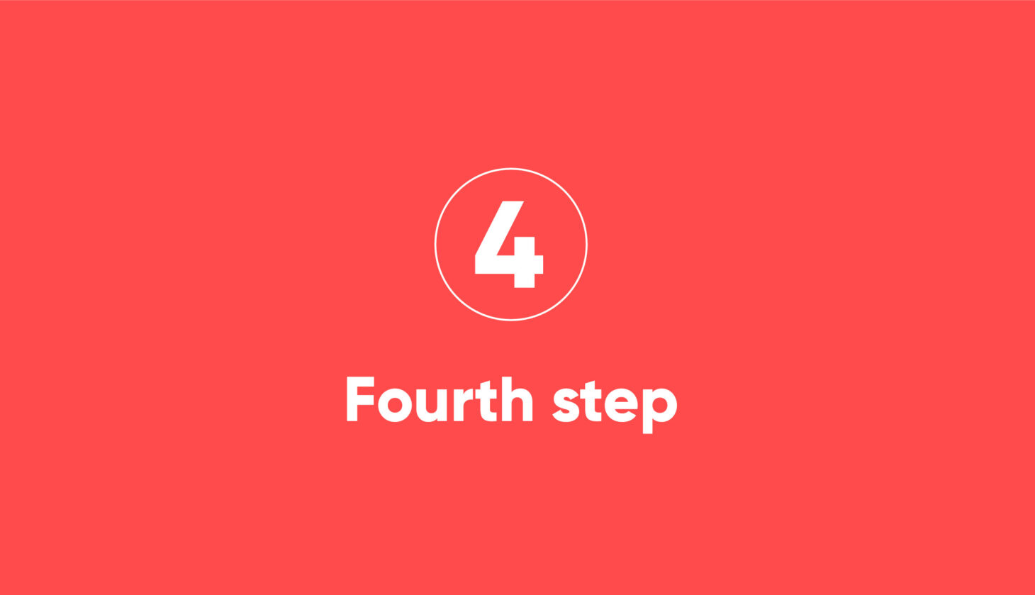 Step-4 Process steps of a migration project with Motio solutions
