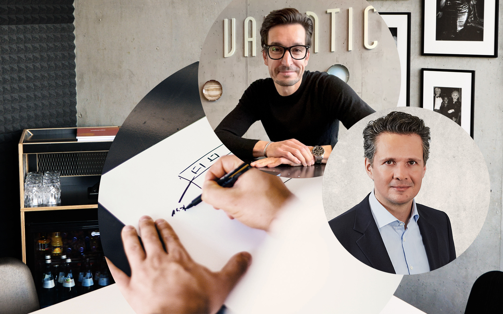 Image of Alexander Fetzer, Client Value & Innovation Manager at valantic, and Patrick Ganzmann, Managing Director valantic CEC Deutschland, Trends in the CX environment in 2021