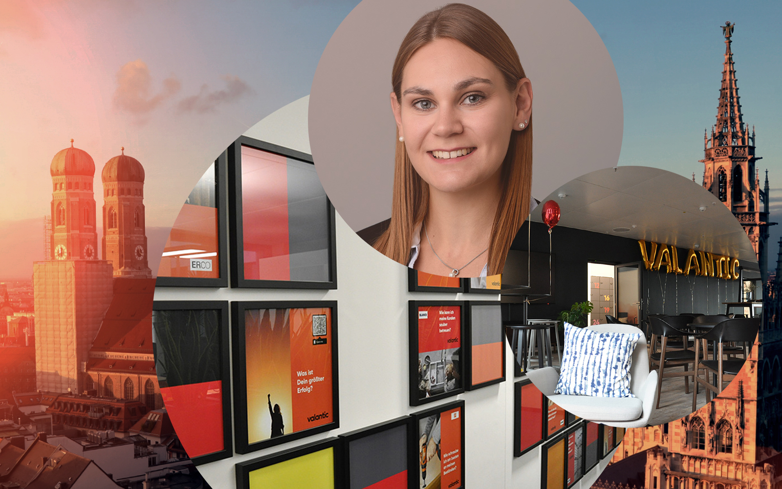 Image of Antonia Demleitner, Junior Consultant SAP TM at valantic Supply Chain Excellence in Munich