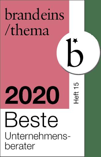 Logo Brand 1 valantic beste Unternehmensberater 2020