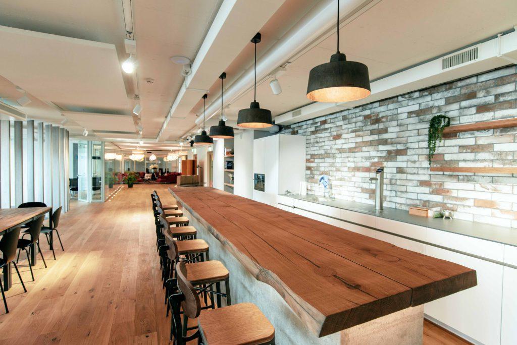 Bild der Büroräumlichkeiten der valantic Customer Engagement & Commerce Schweiz in St. Gallen