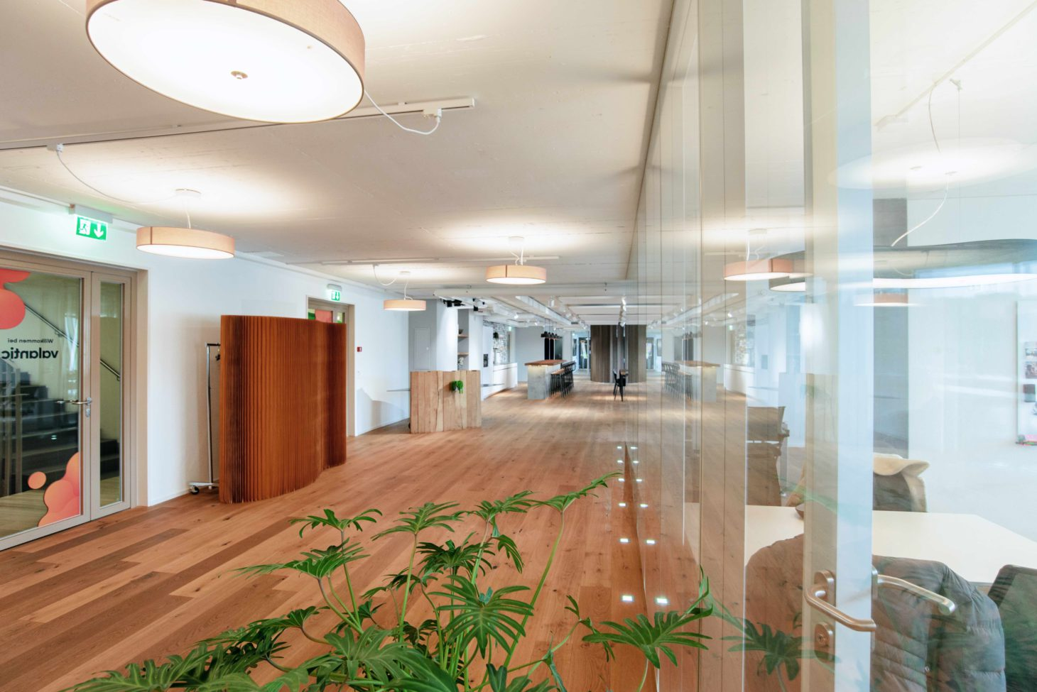 Picture of office space, valantic Customer Engagement & Commerce (CEC) Switzerland branch in St. Gallen