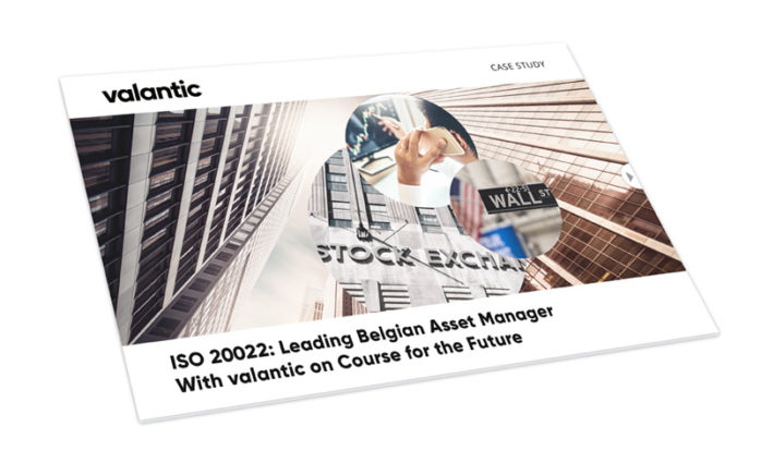 Bild einer Zeitschrift, valantic Case Study ISO 20022: Leading Belgian Asset Manager With valantic on Course for the Future