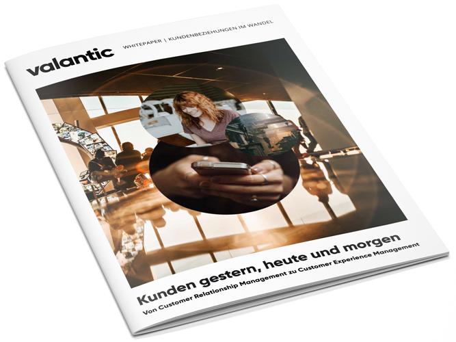 Bild einer Zeitschrift, valantic Whitepaper