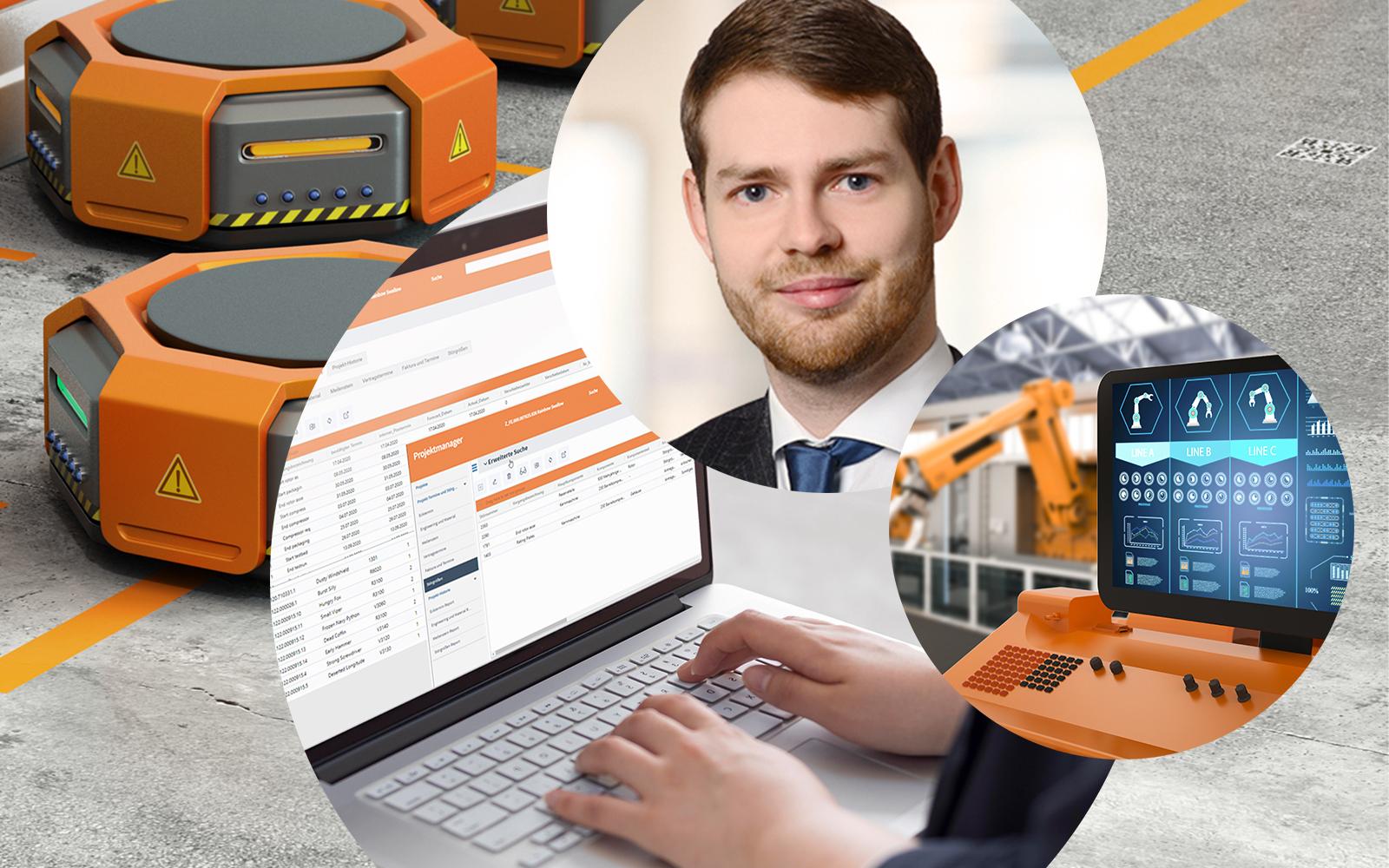 Bild von Daniel Wenzl, Consultant bei valantic Supply Chain Excellence, Automatisierte Produktionsplanung