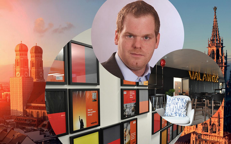 Bild von Fabian Enger, Senior Technical Consultant valantic Customer Engagement & Commerce in München