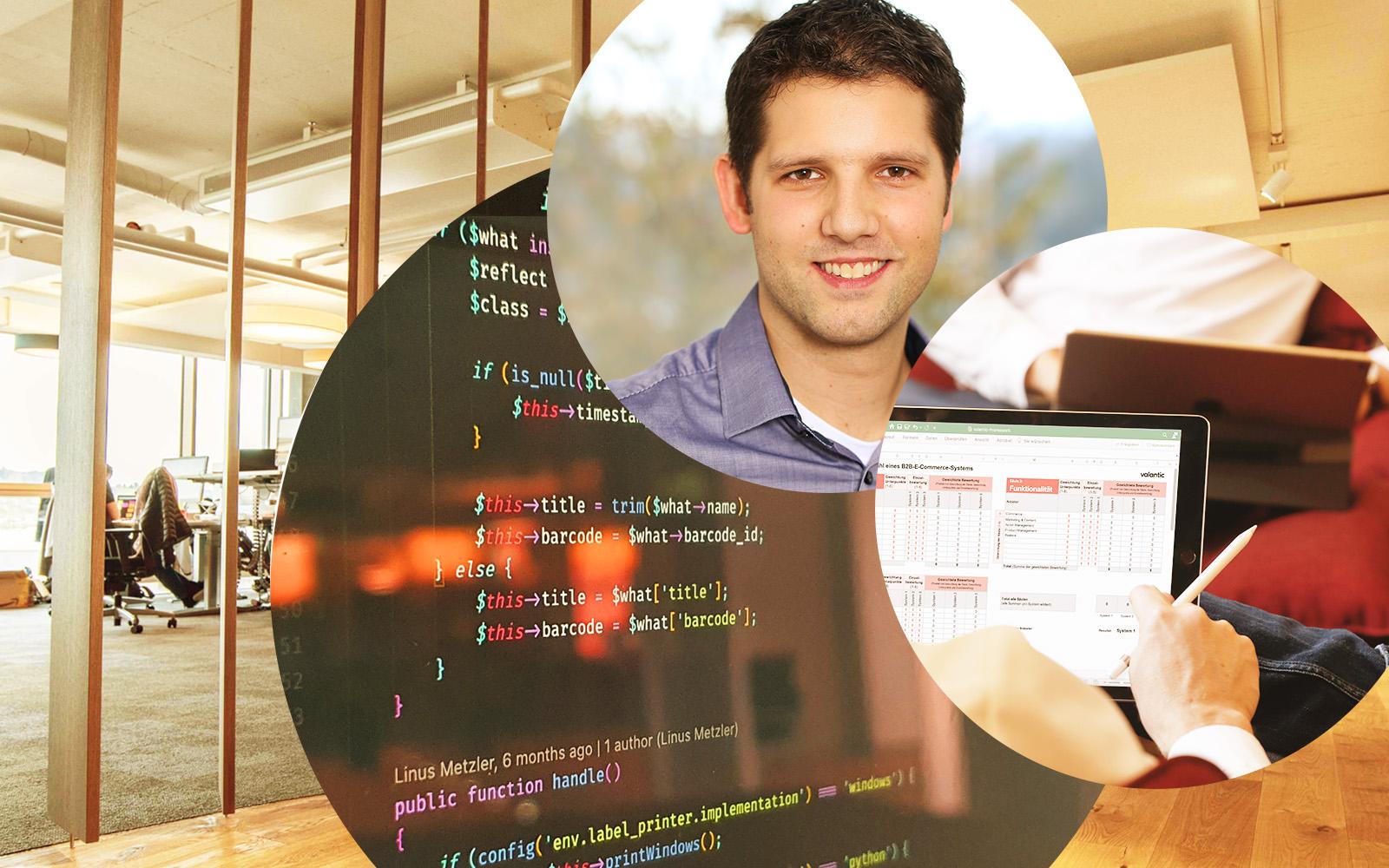 Bild von Fabian Saccilotto, Head of Technology and Innovation bei valantic Schweiz