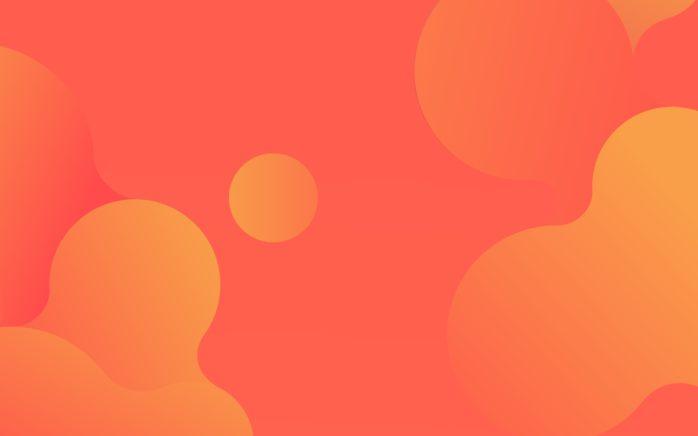 gelb-oranger valantic Wallpaper