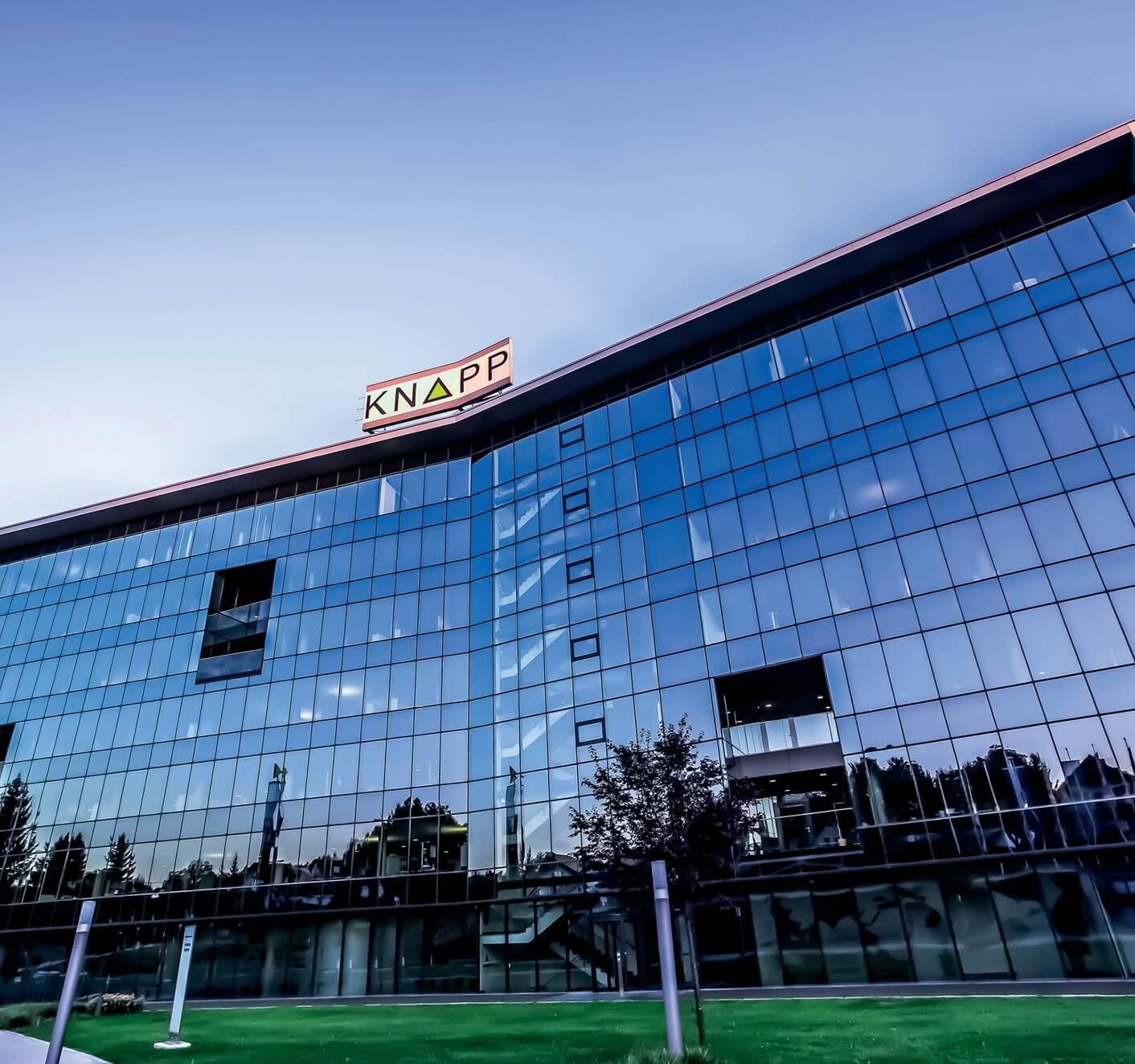 Bild des Gebäudes von der Knapp AG, valantic Supply Chain Excellence Day bei Knapp