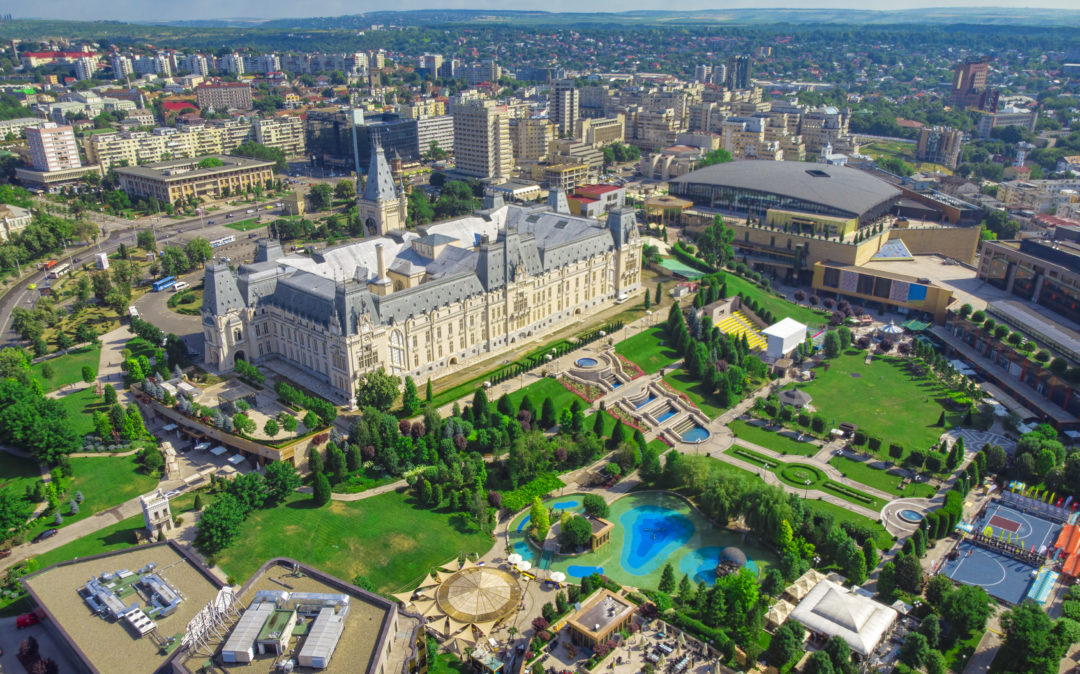 Photo of Iasi city view with Culture Palace