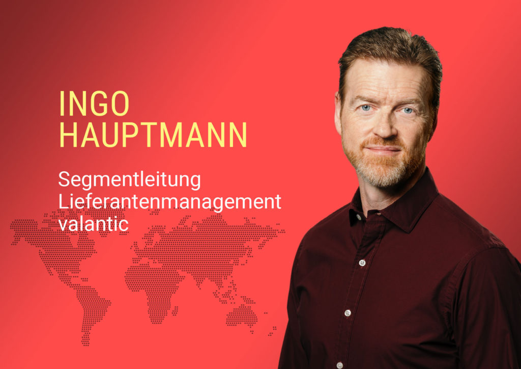 Bild von Ingo Hauptmann, Segmentleitung Lieferantenmanagement bei valantic Supply Chain Excellence, in  der Wirtschaftsmacher-Initiative Logistikheld