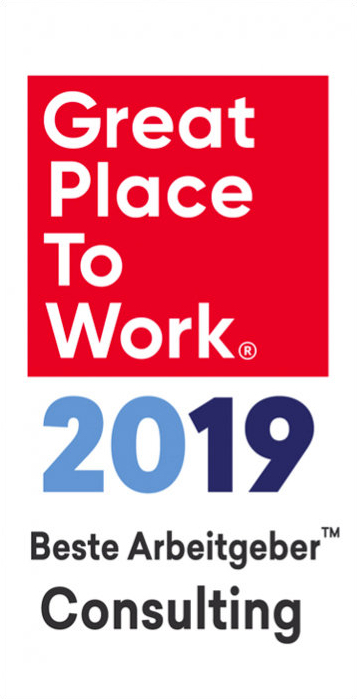 Logo Great Place To Work 2019 Beste Arbeitgeber Consulting