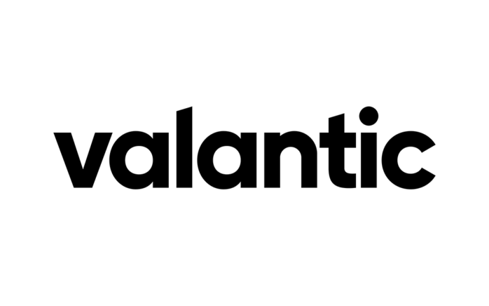 Logo of digital solutions, consulting, and software company valantic