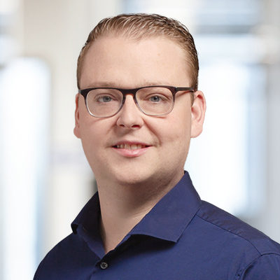 Portrait of Markus Hoff, Senior Consultant at valantic