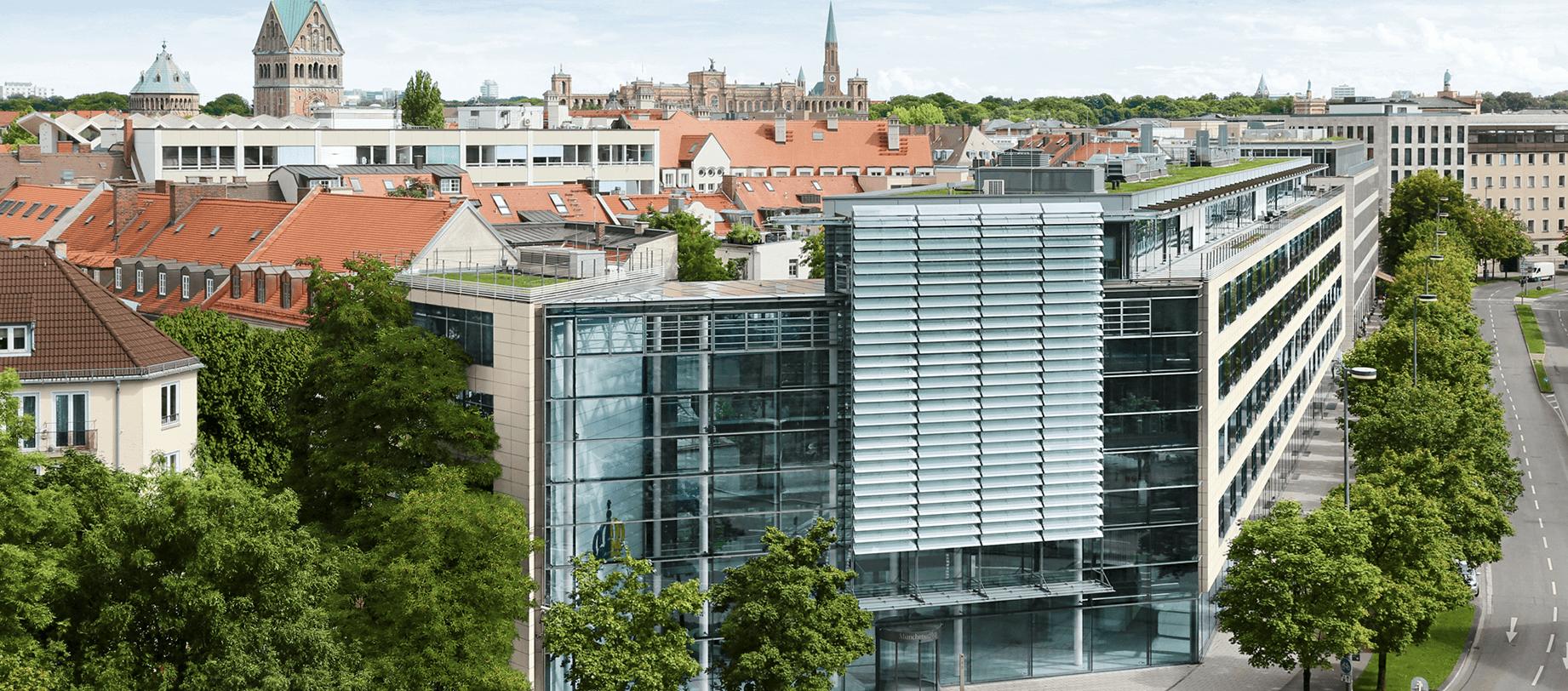 Stadtansicht München, Migrationsprojekt valantic bei der Münchner Hypothekenbank