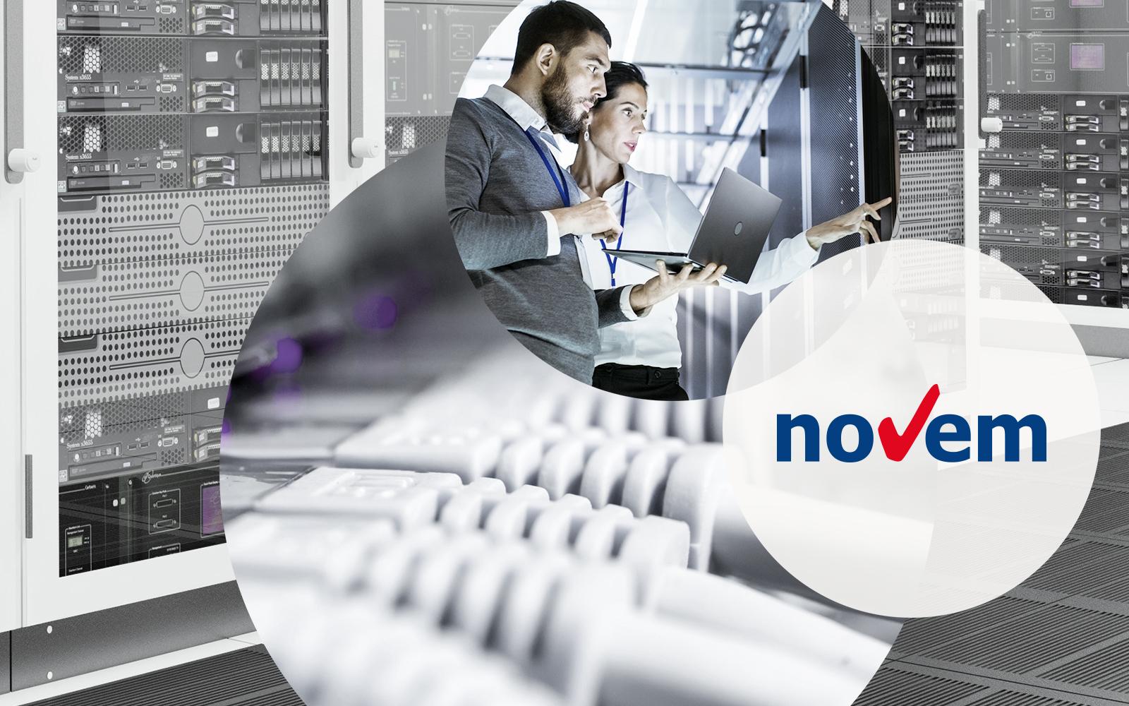 Logo of Business Analytics specialist novem who operates under the new name valantic
