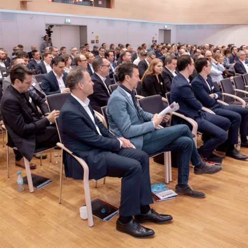 Image of the audience at the valantic visiondays 2019 in Munich