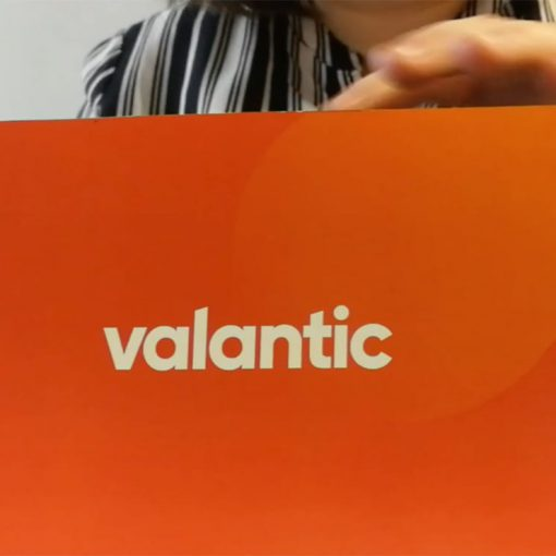 Image of a person holding a valantic block, valantic Dr!ft Showcase