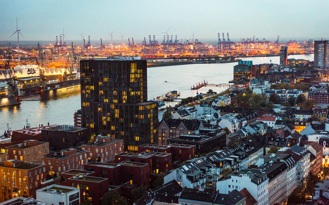 City view of Hamburg, valantic Business Analytics Hamburg branch