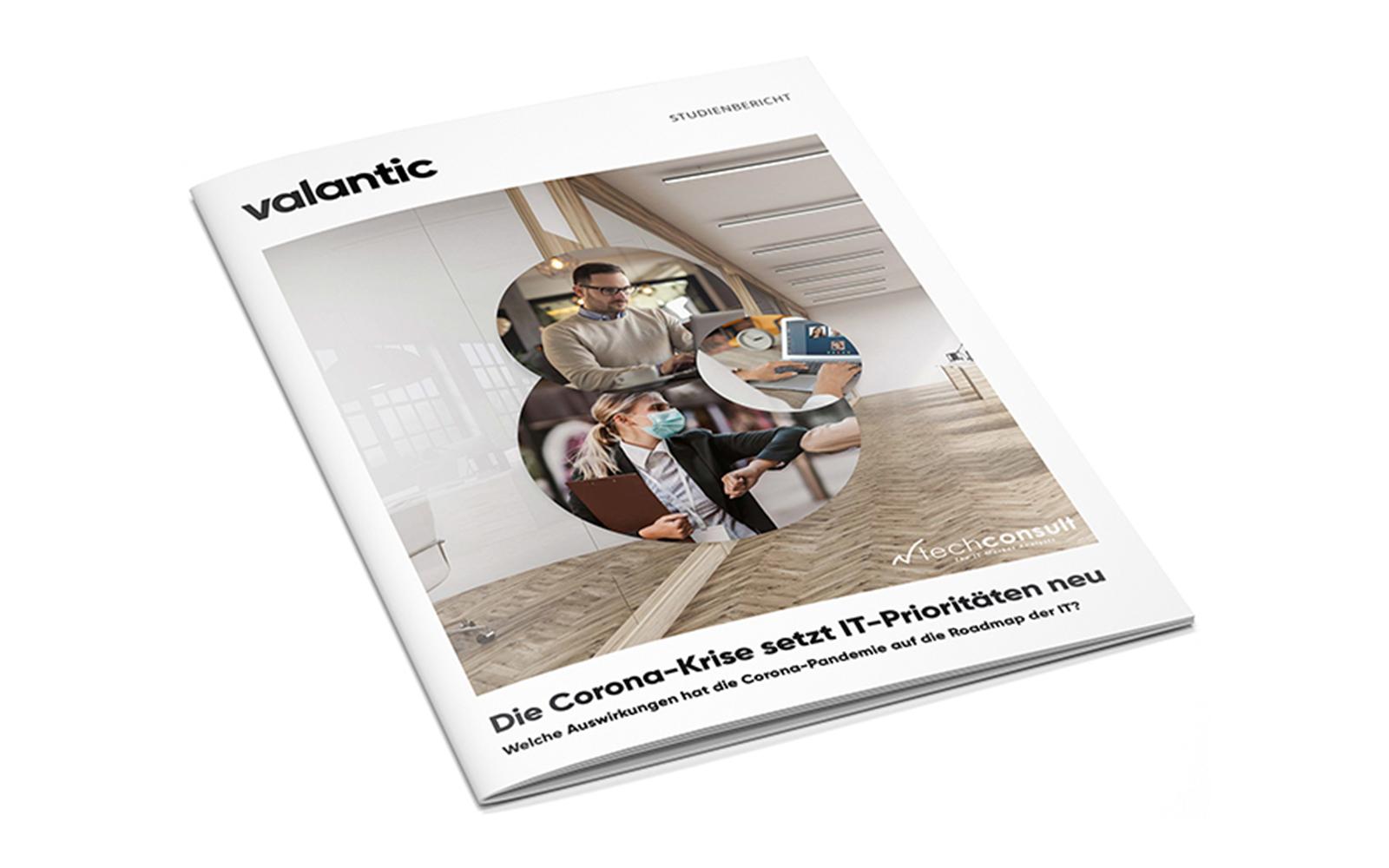 Titel-Cover der valantic & TechConsult Studie: