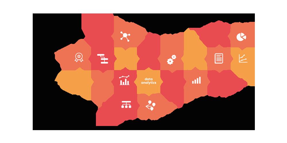 valantic Grafik zum Thema Supply Chain Analytics