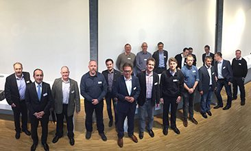 Picture of men, valantic Supply Chain Excellence Day at ERCO