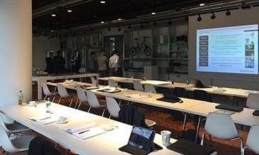 Picture of a seminar room, valantic Supply Chain Excellence Day at ERCO
