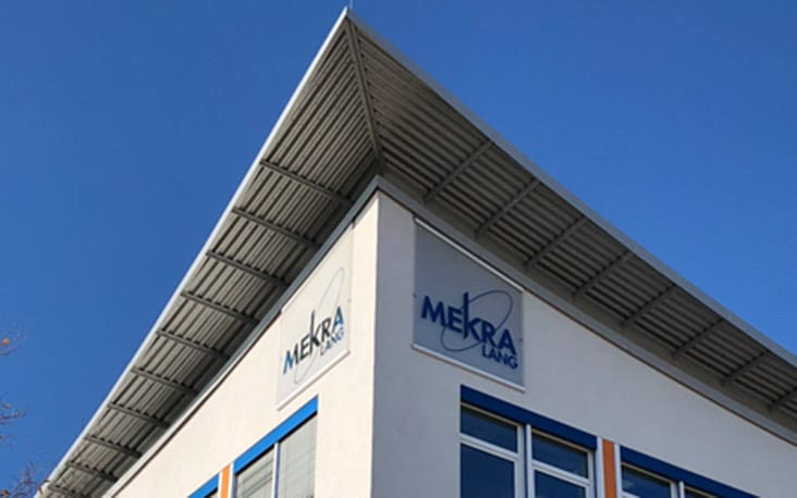 Picture of the Mekra building, valantic Supply Chain Excellence Day at MEKRA