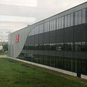 Picture of the building of SEW Eurodrive, valantic Supply Chain Excellence Tag at SEW Eurodrive