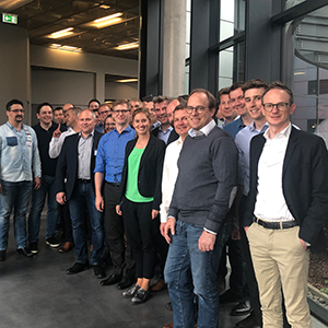Image of people, valantic Supply Chain Excellence Day at SEW Eurodrive