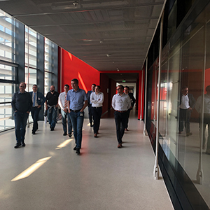 Picture of walking people, valantic Supply Chain Excellence Day at SEW Eurodrive