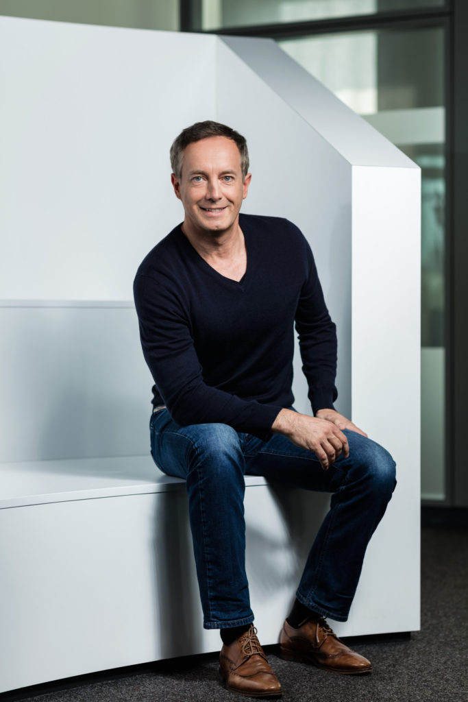Porträt von Tim Hahn, Geschäftsführer von netz98