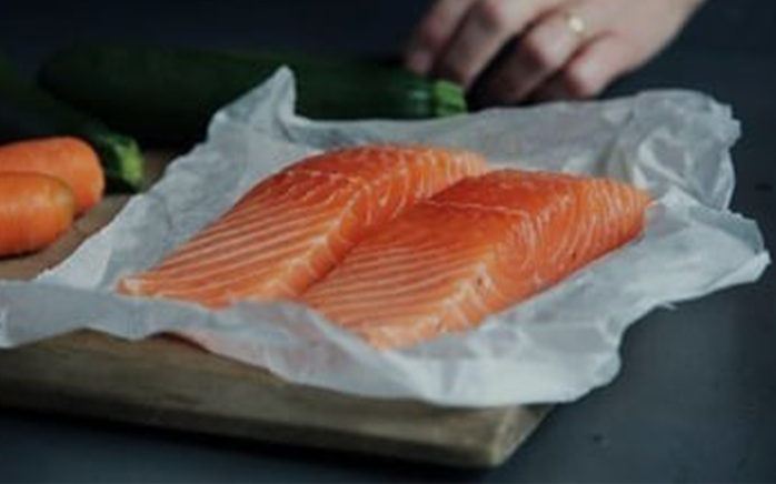 Picture of salmon fillet, valantic Case Study Costa
