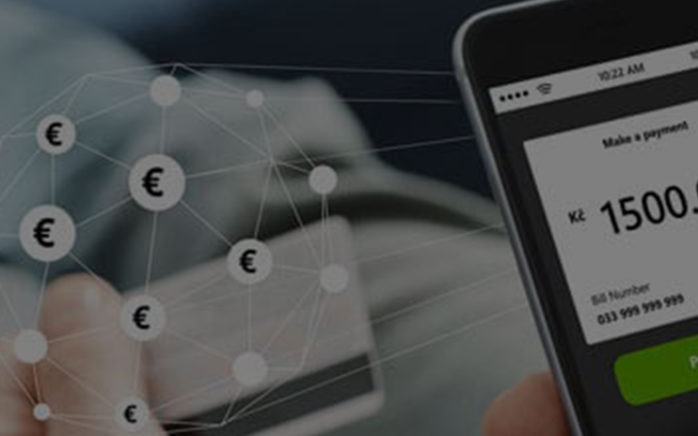 image of a smartohone with a payment on the screen, valantic case study instant payment platform RTPE