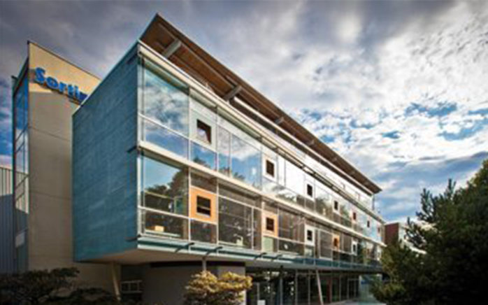 Picture of the Sortimo Company Building, valantic Case Study Sortimo